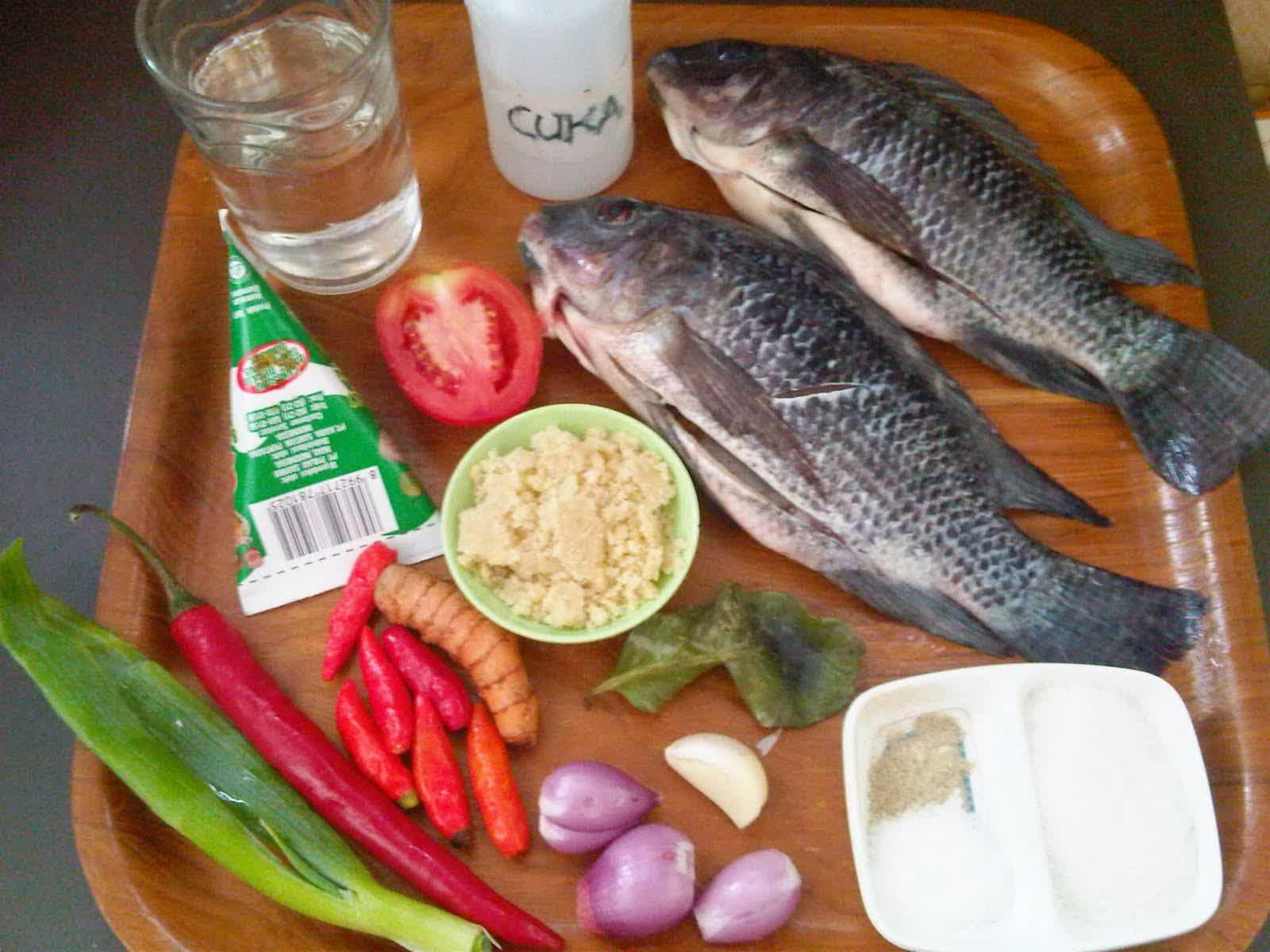 resep acar ikan, bahan acar ikan, resep acar ikan nila