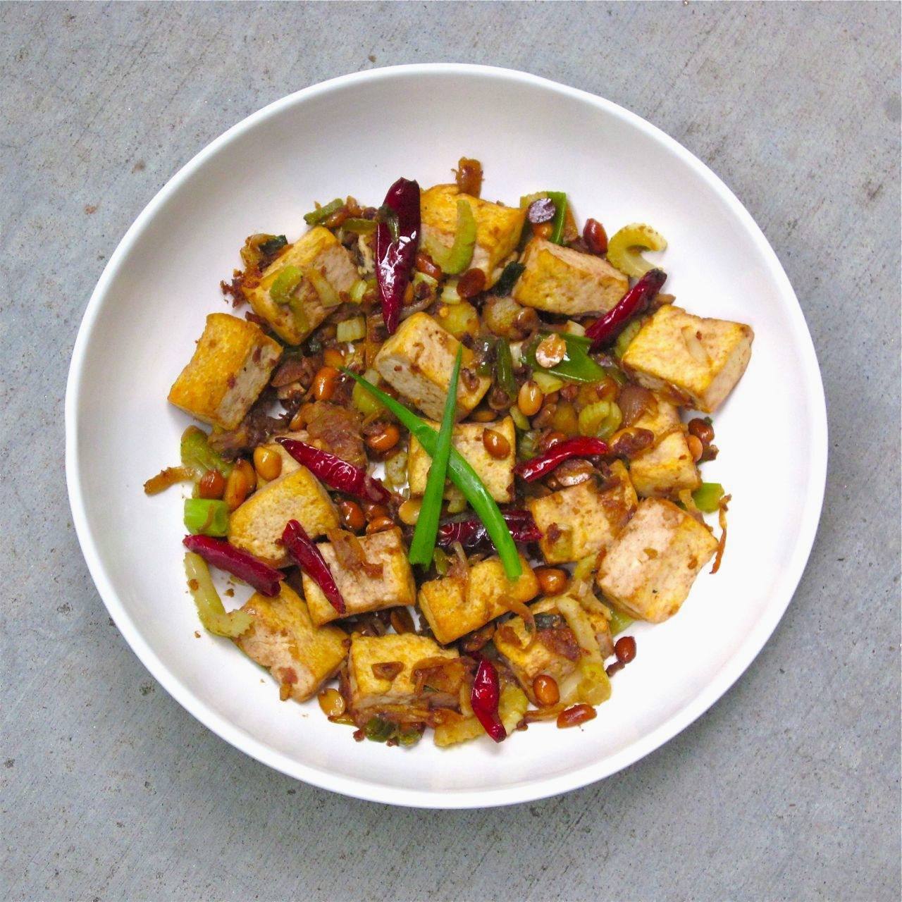 Taste as you Cook: Kung Pao Tofu