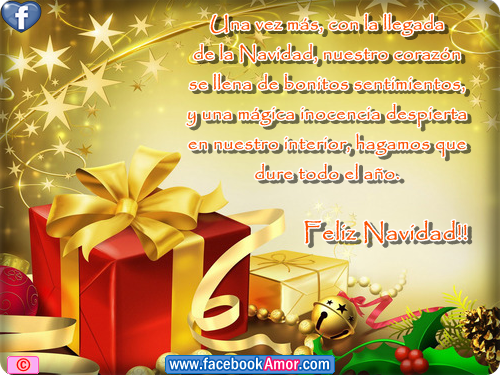 Tarjetas con frases bonitas de navidad im genes bonitas - Postales navidenas bonitas ...