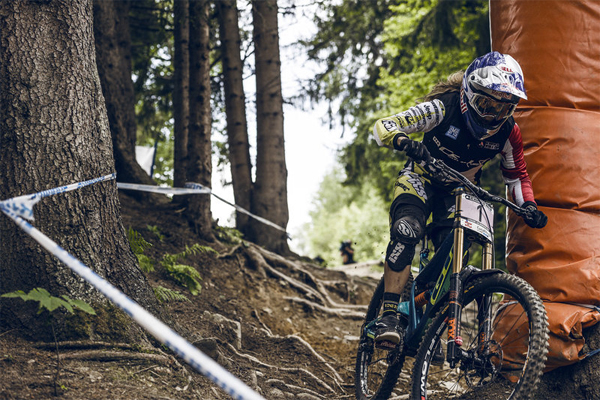 2015 Leogang UCI World Cup Downhill: Qualifying Rachel Atherton