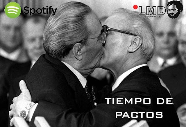 TIEMPO DE PACTOS (El Spotify de Enero)