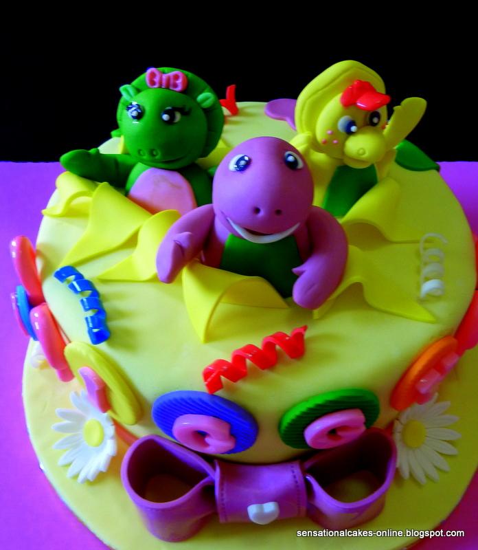 barney cake - photo #7