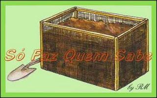Além da umidade, o calor é muito importante para que a matéria orgânica fermente. Cubra a composteira para o calor não se dissipar