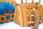 Baul Wayuu Con cuero