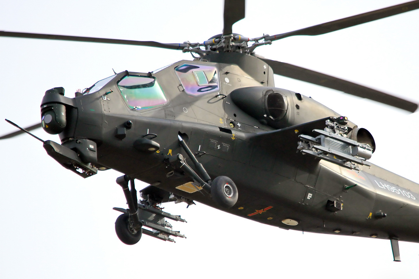 People's Liberation Army Z-10 Attack Helicopter | Chinese ...