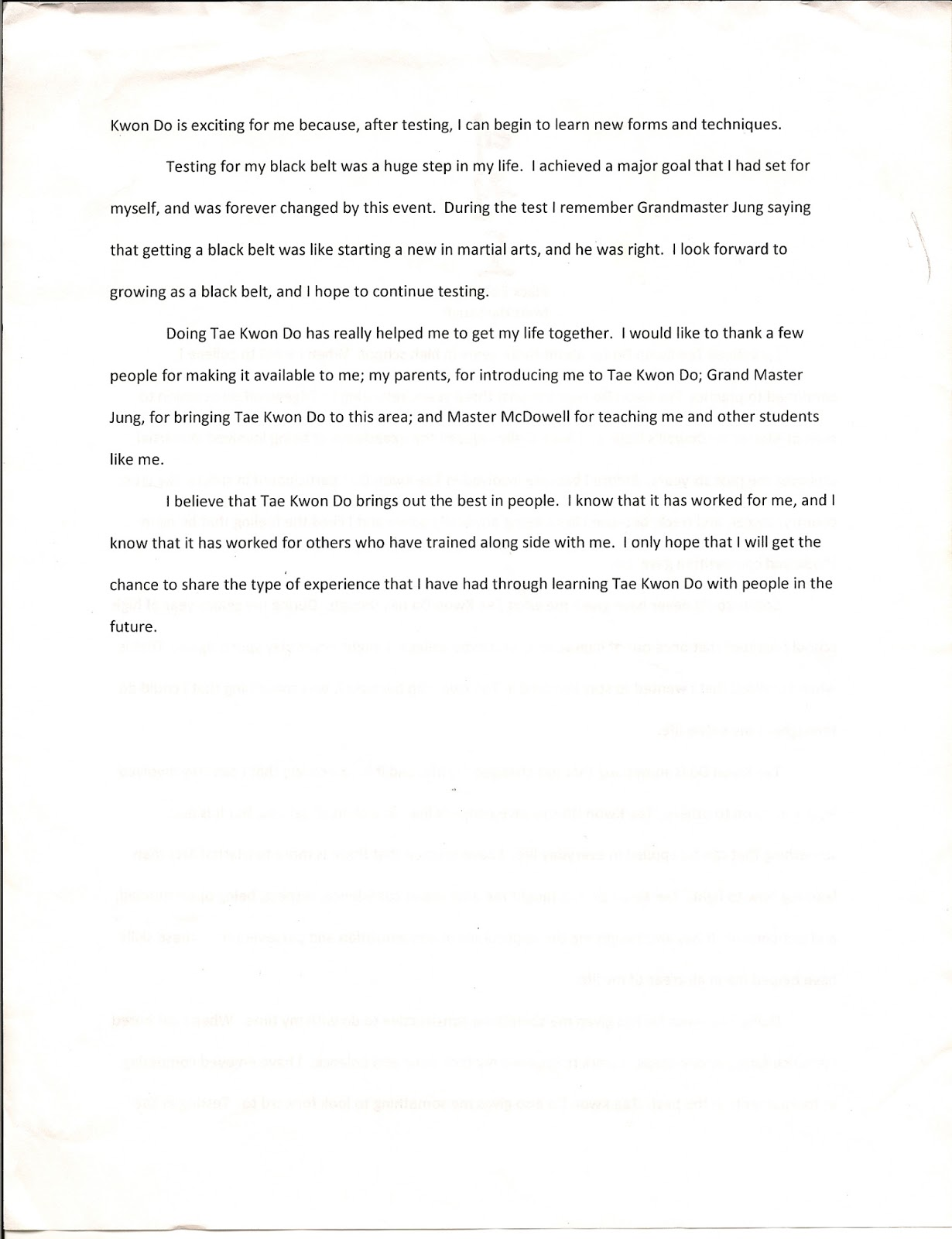 black belt essays matt harbaugh black belt essay black belt essay