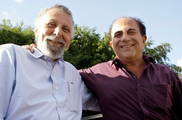 Tom and Ray Magliozzi from Car Talk, the inspiration for I Hear of Sherlock Everywhere