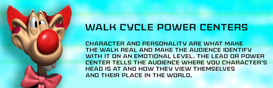 Walk Cycle Power Centers - Thinking Animation - Angie Jones