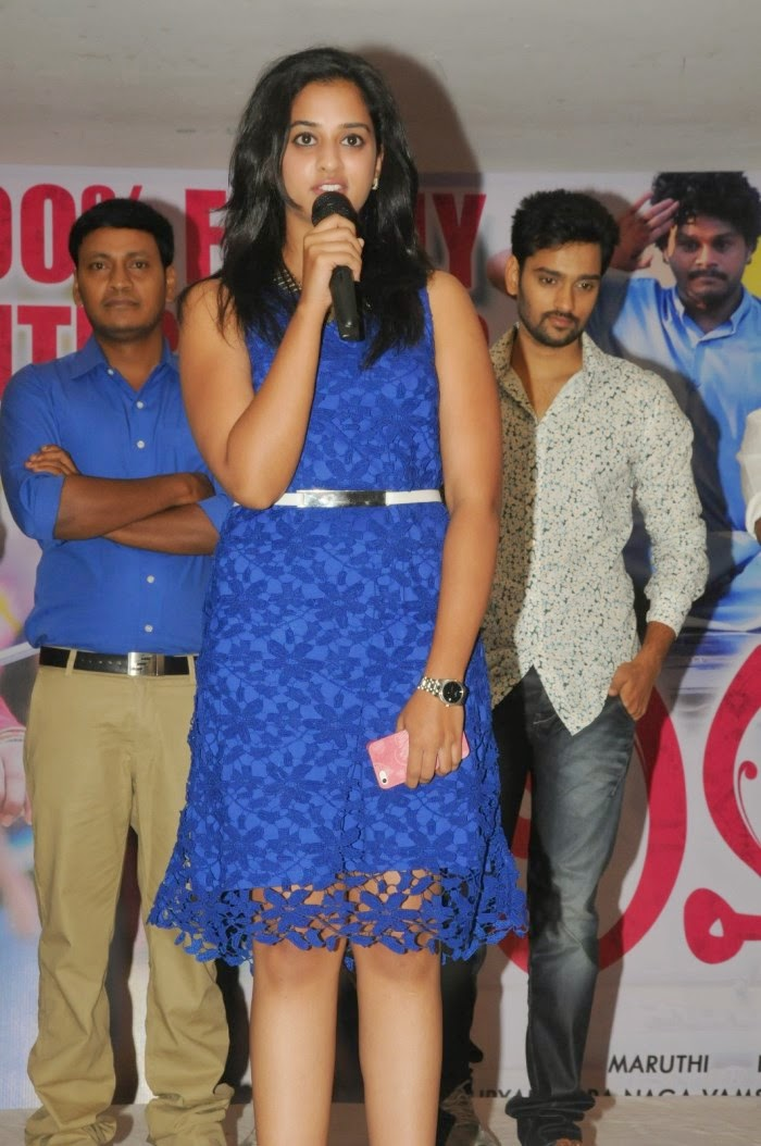 Nanditha Raj at Lovers Movie Success Meet Event