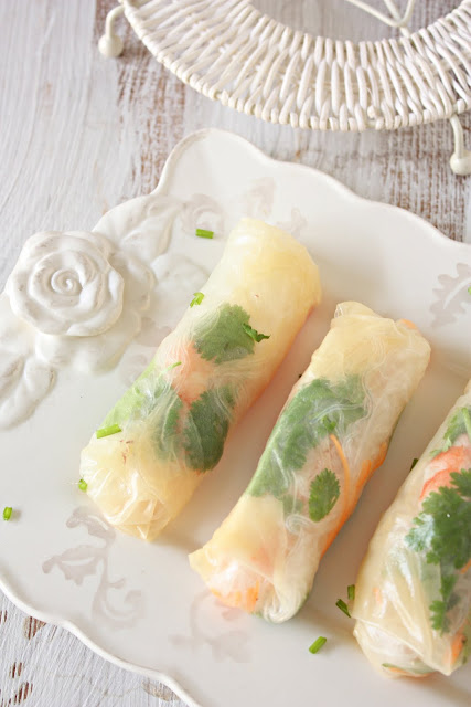 Vietnamese Spring Rolls | Easy Finger Foods | Recipes And Ideas For Your Party