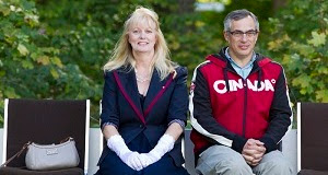 Alice Murphy & Tony Clement.