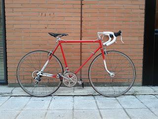 Bicicleta Otero restaurada