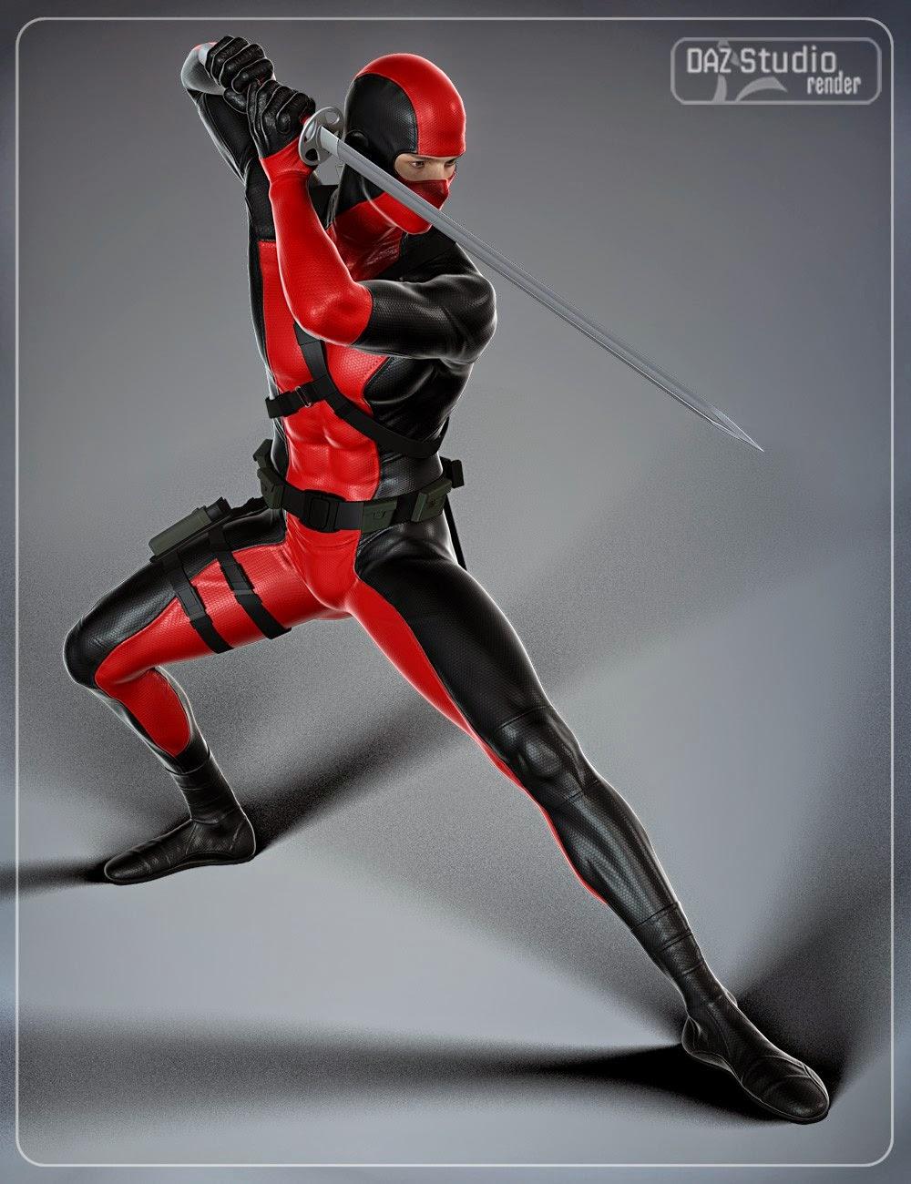Super héros Équipement pour Genesis 2 Homme