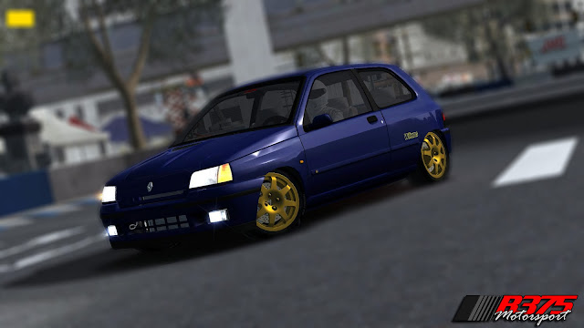 Clio Williams y 205 GTI rFactor