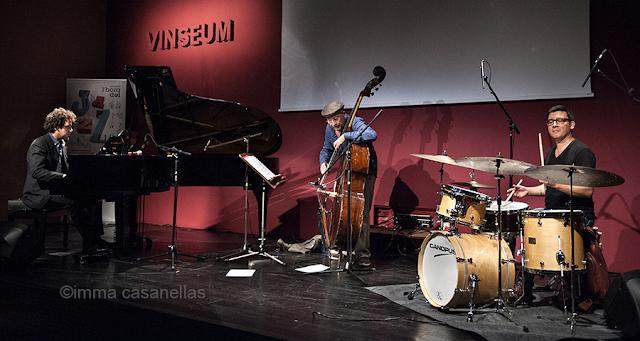 Sergi Sirvent Trio, Auditori de Vinseum, Vilafranca del Penedès, 26-9-2015