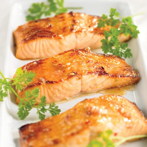lb boneless, skinless wild Atlantic salmon fillet