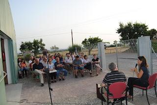 Presentació del llibre a CIARGA a Els Monjos.