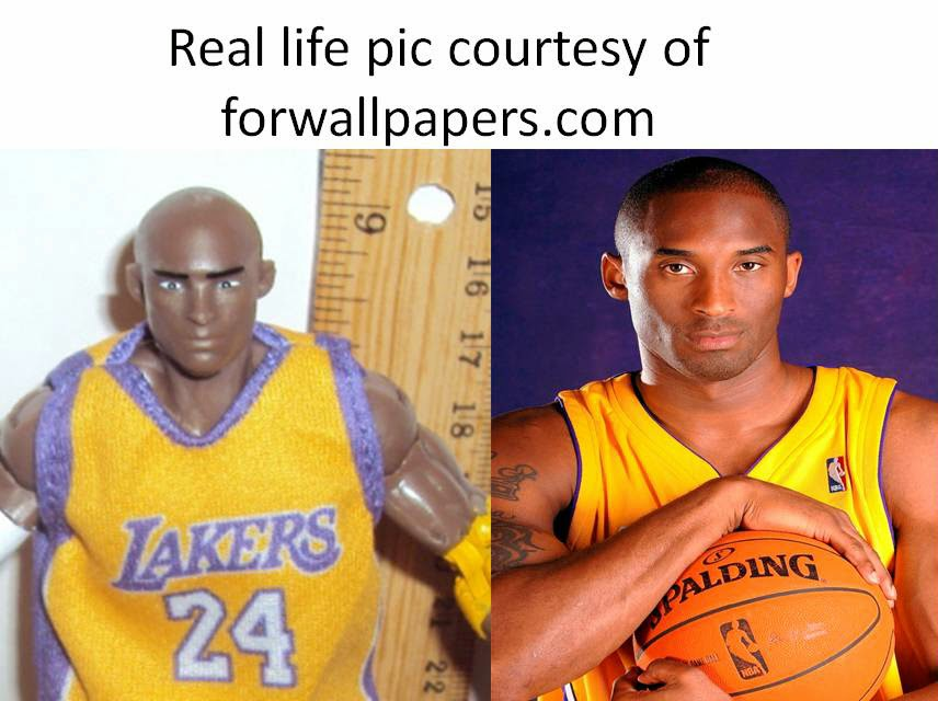 Action Figure Imagery Toy Reviews: NBA HEROES - Kobe ...