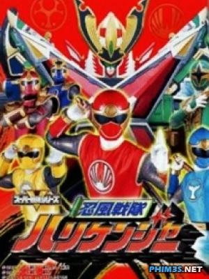 Siêu Nhân Nhẫn Phong - Ninpuu Sentai Hurricaneger