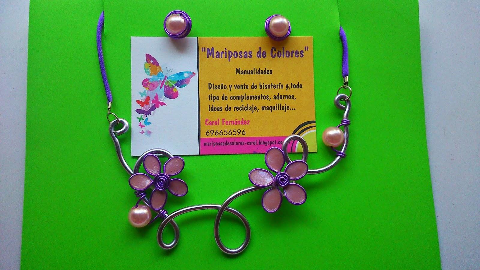 Mariposas de Colores Manualidades\