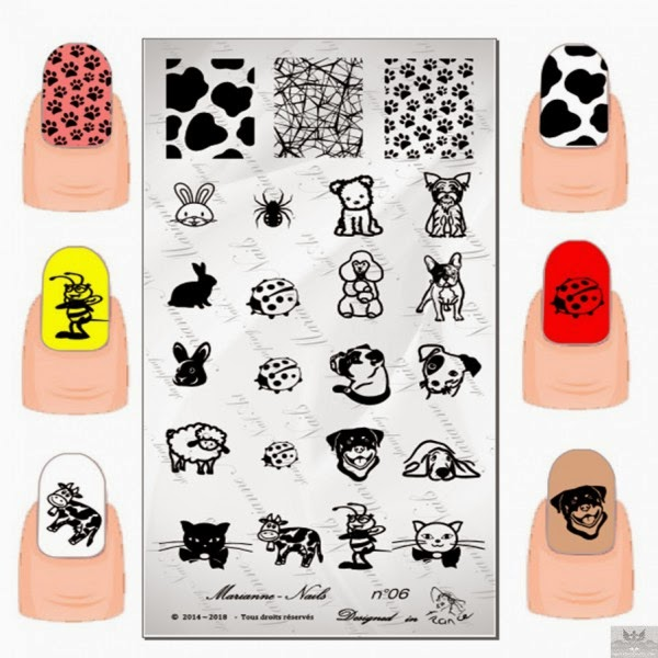 Lacquer Lockdown - Marianne Nails Nail Art Stamping Plates, Marianne nail art plates, marinane stamping plates, nail art, nail art stamping blog, new nail art stamping plates 2014, new nail art image plates 2014, new nail art plates 2014, stamping, new nail plates 2014, diy nail art, cute nail art ideas, new nail art ideas, dog image nail art, puppy nail art