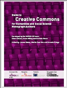 Guide to Creative Commons for Humanities and Social Science Monograph Authors