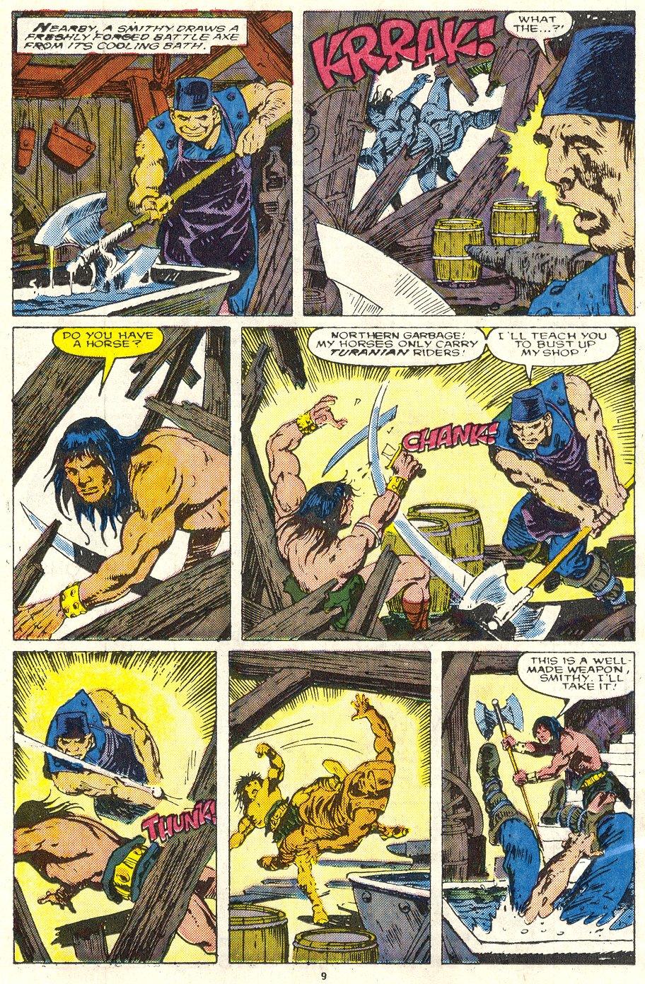 Conan the Barbarian (1970) Issue #219 #231 - English 8