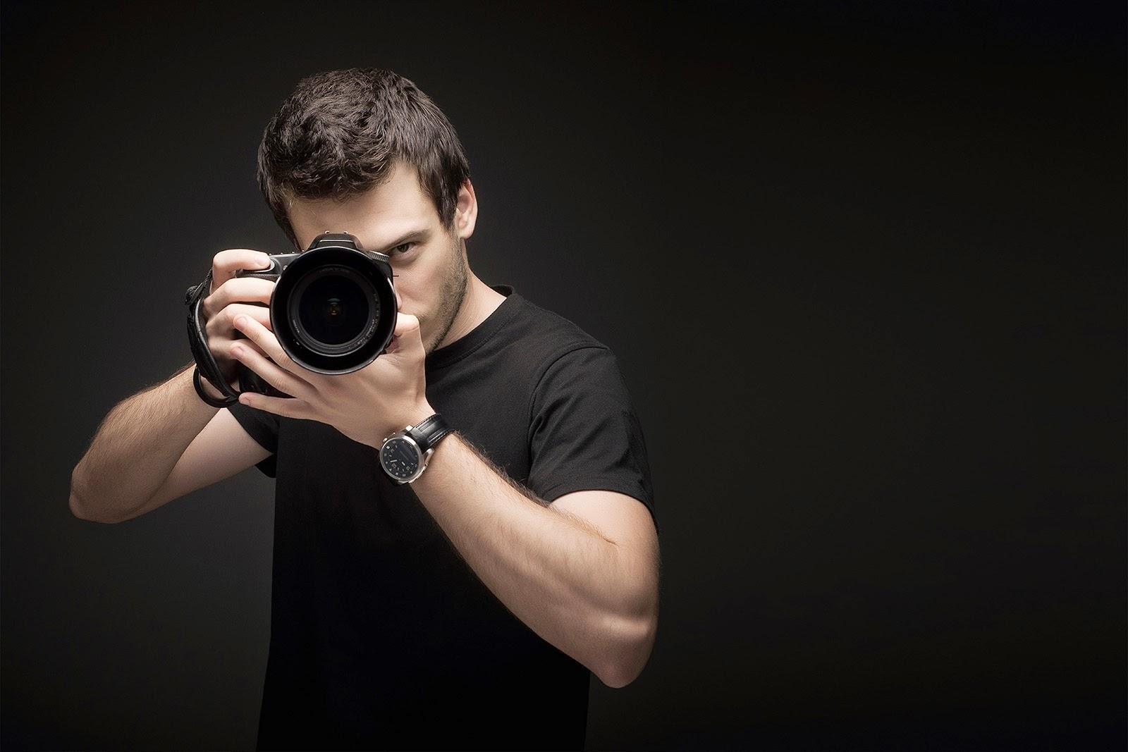 Se un fotógrafo de actores y modelos