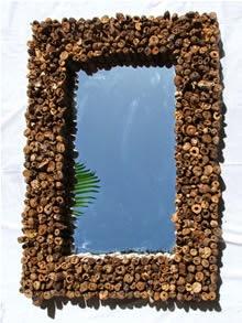 Espejos con Madera a la Deriva, Decoracion con Materiales Reciclados