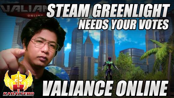 Valiance Online, STEAM Greenlight, Needs Your Votes
