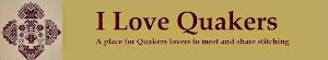 Tu pokazujemy swoje hafty w stylu Quaker