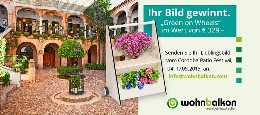 """Wohnbalkon.com verlost einen mobilen """"green on wheels ..."""
