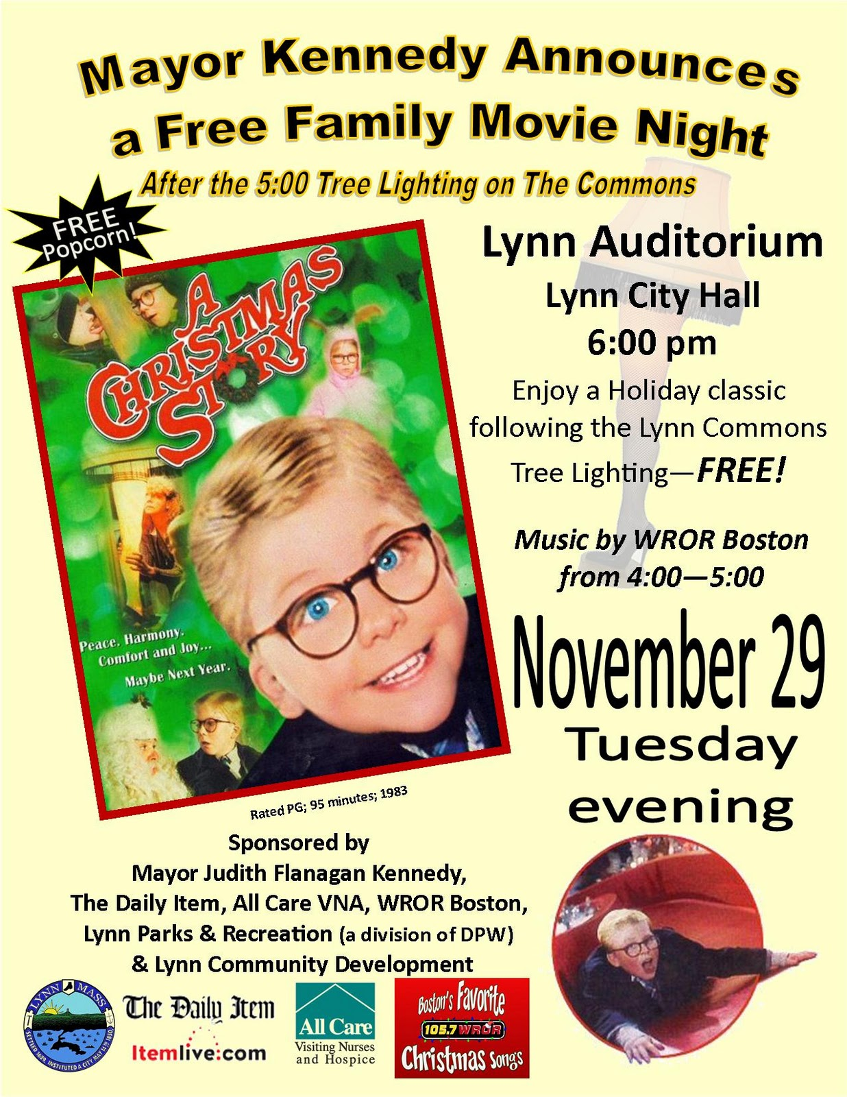 A Christmas Story Flyer