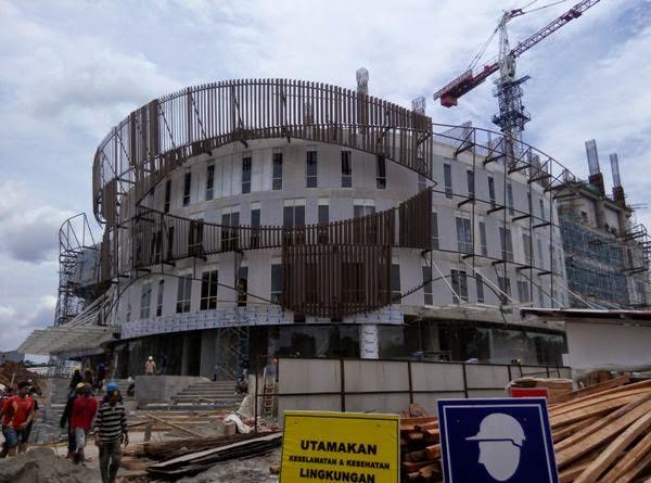 one belpark Mall progress 3