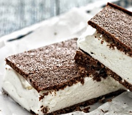 How To Make Healthy Classical Ice-Cream Sandwich