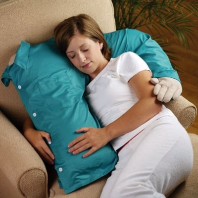 hug me, pillow, woman with hug me pillow