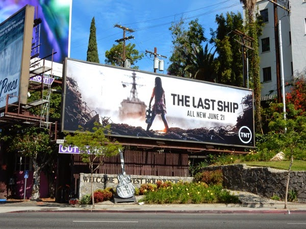 The Last Ship season 2 billboard