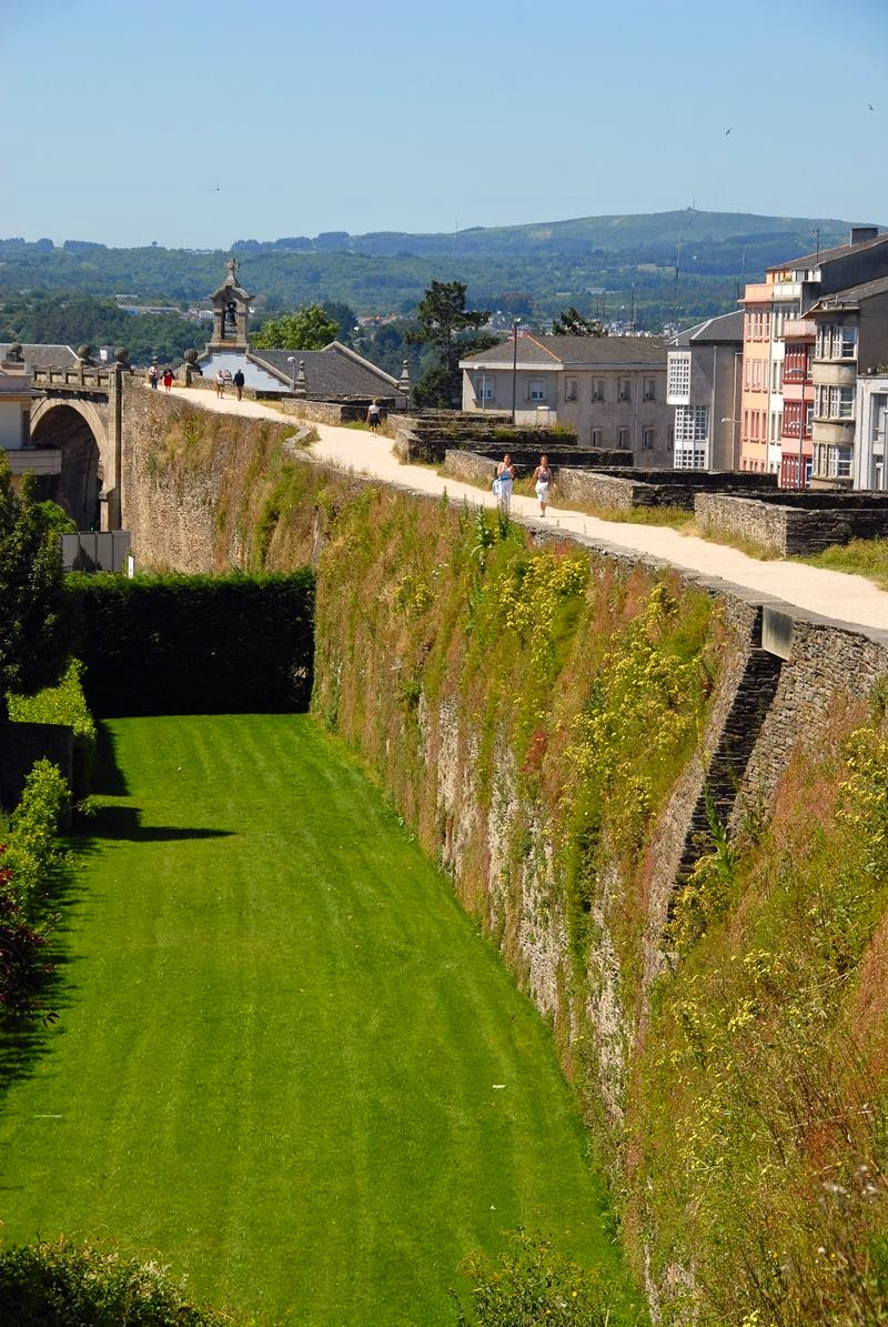 The Roman Walls of Lugo, Spain