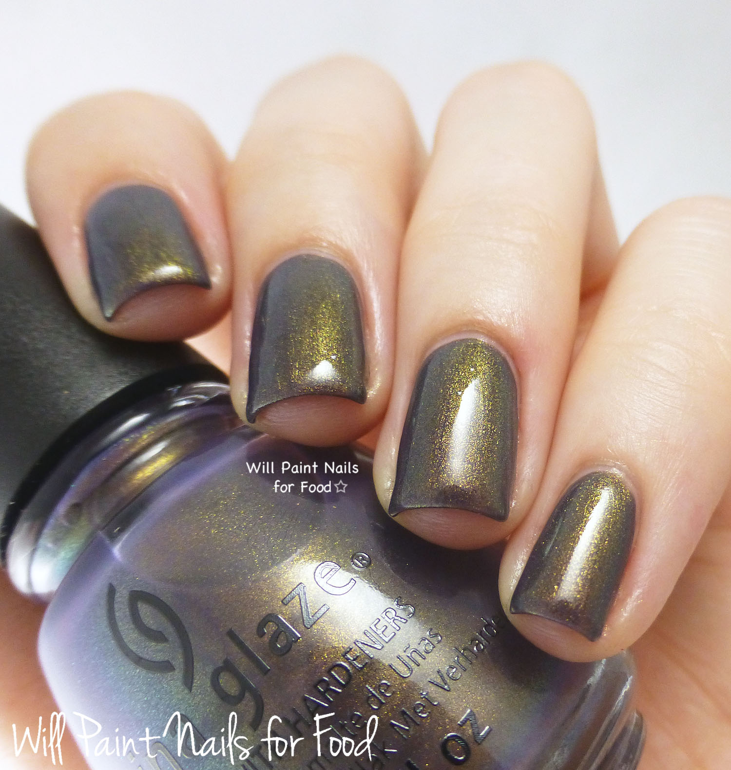 China Glaze Choo-Choo Choose You swatch