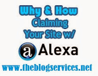 Ho to Claim your Blog on Alexa
