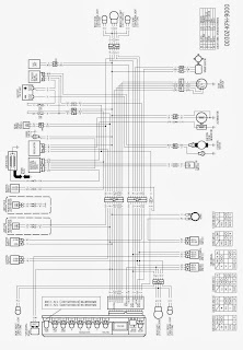 skema kelistrikan motor  honda kharisma