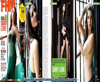 Sunny Leone Cover, FHM Magazine Cover