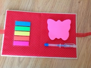 sticky notes, sticky notes holder, post-it