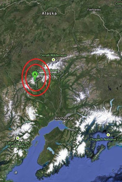 Magnitude 4.2 Earthquake of Talkeetna, Alaska 2014-09-10