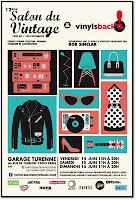 Salon du vintage Paris Garage de Turenne Paris Vinyl Bob Sinclar