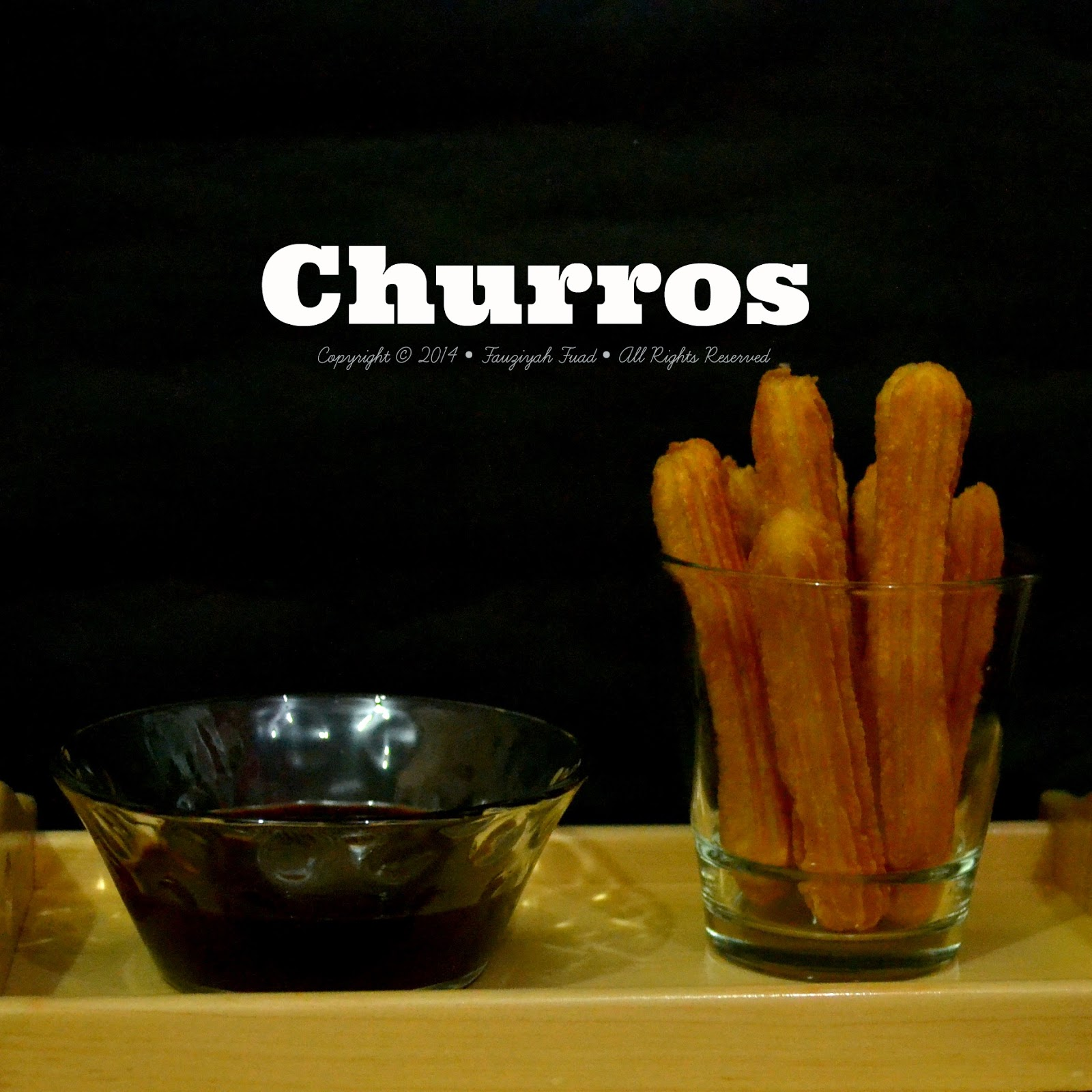 From My Little Kitchen Churros