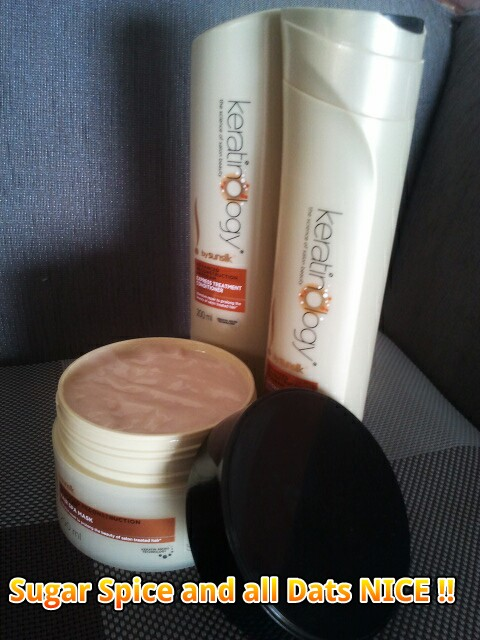 Sunsilk Keratioology Shampoo, Conditioner and Hair Mask
