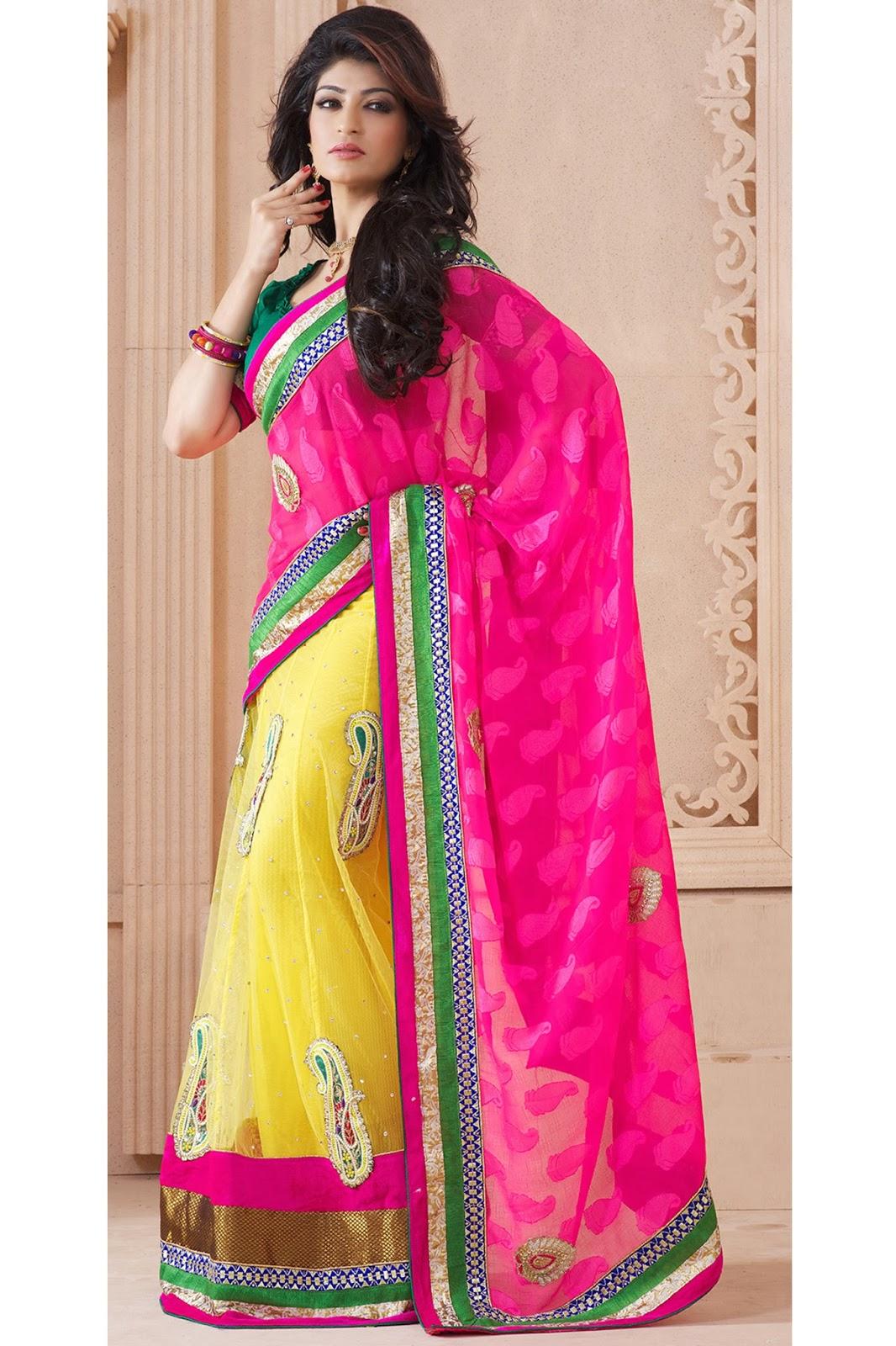 Designer sarees images winter wedding saree collection for Designer com