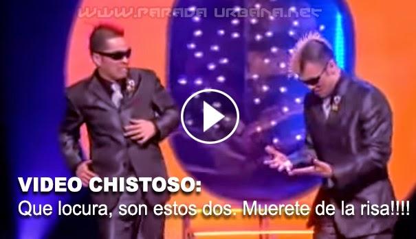 VIDEO CHISTOSO - Observa la locura de estos dos hombres.te morirás de la risa!