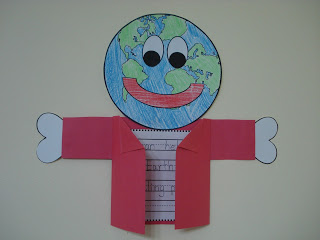 Adorable Earth Day Craftivity And Word Search By Fun 2 B In First